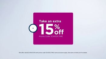 Kohl's TV Spot, 'Back to School: Backpacks, Graphic Tees & Dorm Essentials' - Thumbnail 2
