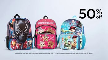 Kohl's TV Spot, 'Back to School: Backpacks, Graphic Tees & Dorm Essentials' - Thumbnail 5