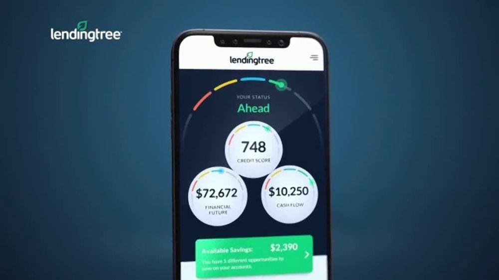 LendingTree App TV Commercial, 'Financial Overview'