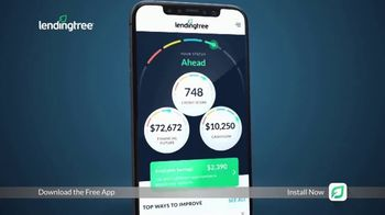 LendingTree App TV Spot, 'Financial Overview' - Thumbnail 9