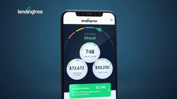 LendingTree App TV Spot, 'Financial Overview'