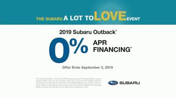 Subaru A Lot to Love Event TV Spot, 'Never Too Early' Song by Julie Doiron [T2] - Thumbnail 8
