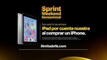 Sprint Weekend Sensacional TV Spot, 'Solo este fin de semana: iPad por cuenta nuestra al comprar un iPhone' [Spanish] - Thumbnail 5