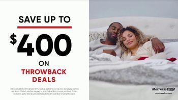 Mattress Firm Flashback Sale TV Spot, 'Throwback Deals: Free Adjustable Base' - Thumbnail 5