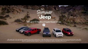 Summer of Jeep TV Spot, 'The Freedom to Do It All' Song by Jeremy Renner [T2] - Thumbnail 7