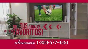 All American Dish TV Spot, 'Canales deportivos' [Spanish] - Thumbnail 1