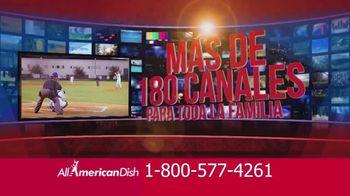 All American Dish TV Spot, 'Canales deportivos' [Spanish] - Thumbnail 7