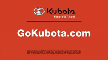 Kubota L2501DT TV Spot, 'Control Your Environment' - Thumbnail 8