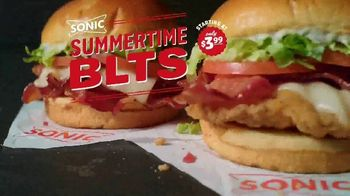 Sonic Drive-In Summertime BLTs TV Spot, 'Quiz'