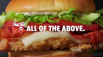 Sonic Drive-In Summertime BLTs TV Spot, 'Quiz' - Thumbnail 8