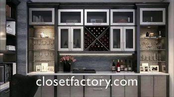 Closet Factory TV Spot, 'Full Home Organization' - Thumbnail 3