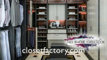 Closet Factory TV Spot, 'Full Home Organization' - Thumbnail 5