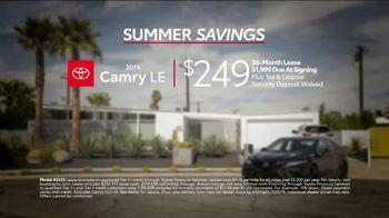 Toyota Summer Savings TV Spot, 'Camry: Enjoy the Ride' [T2] - Thumbnail 8
