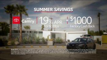 Toyota Summer Savings TV Spot, 'Camry: Enjoy the Ride' [T2] - Thumbnail 9