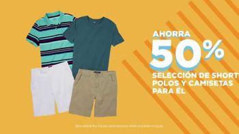JCPenney Venta Más Caliente que el Sol TV Spot, 'Trajes de baño, shorts, polos y camisetas' [Spanish] - Thumbnail 2