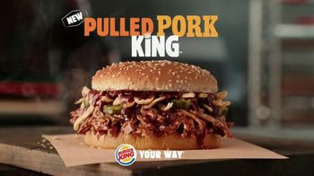 Burger King Pulled Pork King TV Spot, 'Smokin' Hot' - Thumbnail 6