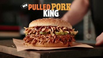 Burger King Pulled Pork King TV Spot, 'Smokin' Hot' - Thumbnail 1