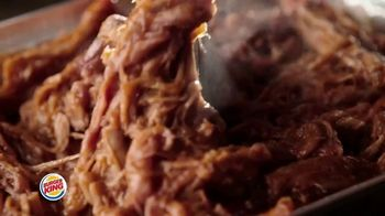 Burger King Pulled Pork King TV Spot, 'Smokin' Hot'