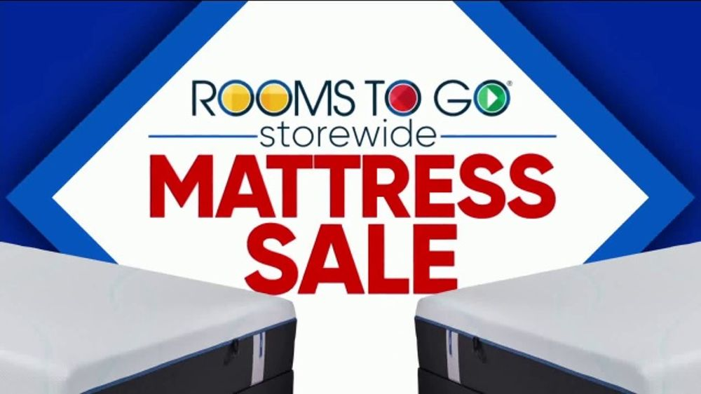 Rooms To Go Storewide Mattress Sale Tv Commercial Tempur Pedic