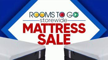 Rooms to Go Storewide Mattress Sale TV Spot, 'Tempur-Pedic: $25'