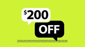 Straight Talk Wireless Unlimited Plan TV Spot, 'Back to School: $200 Off' - Thumbnail 5