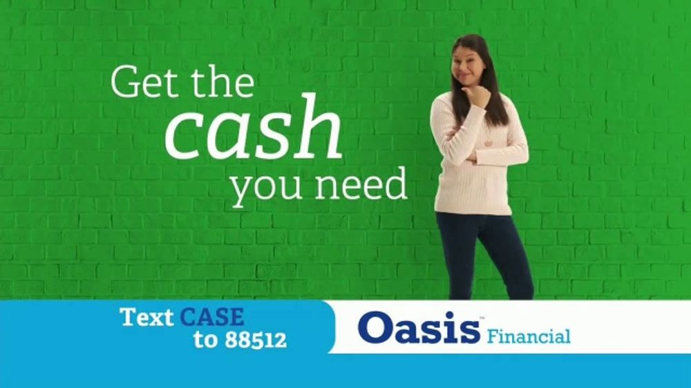Oasis Financial TV Commercial, 'My Accident: Express Cash'