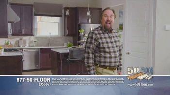 50 Floor TV Spot, 'Tired Floors: Extra $100 Off' Featuring Richard Karn - Thumbnail 2