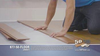 50 Floor TV Spot, 'Tired Floors: Extra $100 Off' Featuring Richard Karn - Thumbnail 3