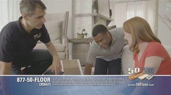 50 Floor TV Spot, 'Tired Floors: Extra $100 Off' Featuring Richard Karn - Thumbnail 4
