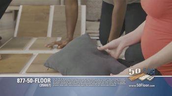 50 Floor TV Spot, 'Tired Floors: Extra $100 Off' Featuring Richard Karn - Thumbnail 5