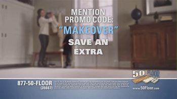 50 Floor TV Spot, 'Tired Floors: Extra $100 Off' Featuring Richard Karn - Thumbnail 7