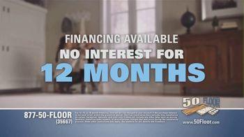 50 Floor TV Spot, 'Tired Floors: Extra $100 Off' Featuring Richard Karn - Thumbnail 8