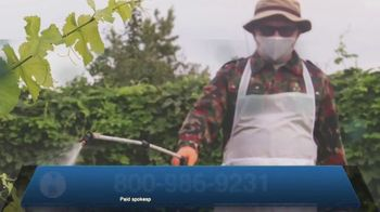 Roundup Legal Helpline TV Spot, 'Landscapers and Non-Hodgkin's Lymphoma'
