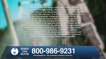 Roundup Legal Helpline TV Spot, 'Landscapers and Non-Hodgkin's Lymphoma' - Thumbnail 10