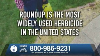 Roundup Legal Helpline TV Spot, 'Landscapers and Non-Hodgkin's Lymphoma' - Thumbnail 4
