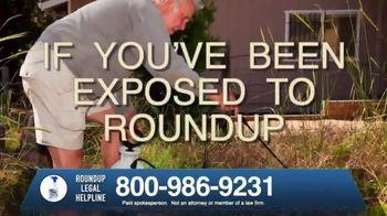 Roundup Legal Helpline TV Spot, 'Landscapers and Non-Hodgkin's Lymphoma' - Thumbnail 8