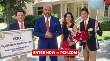 Publishers Clearing House TV Spot, '$5,000 a Week for Life: Question' Featuring Steve Harvey - Thumbnail 1