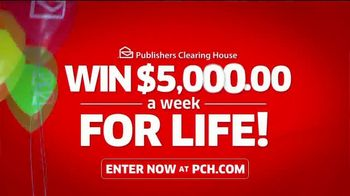 Publishers Clearing House TV Spot, '$5,000 a Week for Life: Question' Featuring Steve Harvey - Thumbnail 9