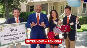 Publishers Clearing House TV Spot, '$5,000 a Week for Life: Question' Featuring Steve Harvey - Thumbnail 2
