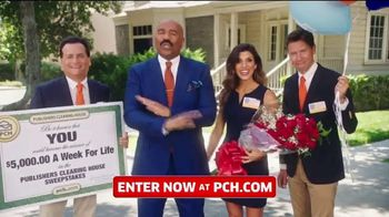 Publishers Clearing House TV Spot, '$5,000 a Week for Life: Question' Featuring Steve Harvey