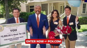 Publishers Clearing House TV Spot, '$5,000 a Week for Life: Question' Featuring Steve Harvey - Thumbnail 4