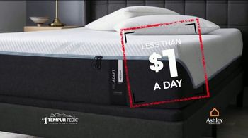 Ashley HomeStore Black Friday in July TV Spot, 'Less Than $1 a Day' Song by Midnight Riot - Thumbnail 8