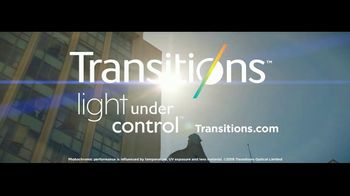 Transitions Optical TV Spot, 'Light Under Control: Meet Thomas' Song by Parov Stelar - Thumbnail 8