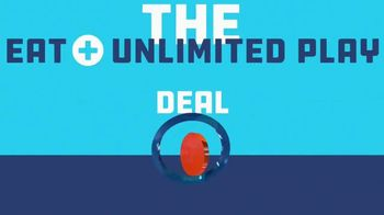 Dave and Buster's TV Spot, 'Eat + Unlimited Play Deal' - Thumbnail 2
