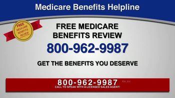 Medicare Benefits Helpline TV Spot, 'Additional Medicare Benefits' - Thumbnail 5