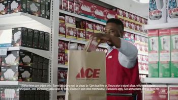 ACE Hardware TV Spot, 'Same Day: In-Store or Delivery' - Thumbnail 4