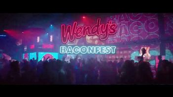 Wendy's Baconfest TV Spot, 'Party' - 6391 commercial airings