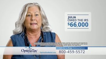 Optima Tax Relief TV Spot, 'Put Tax Debt to Rest'