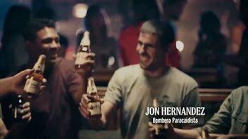 Modelo TV Spot, 'El espíritu luchador de Jon Hernández, bombero paracaidista' canción de Ennio Morricone [Spanish]