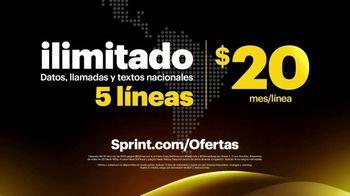 Sprint Unlimited TV Spot, 'Sprint te ofrece llamadas ilimitadas también por $5 dólares al mes' [Spanish] - Thumbnail 9